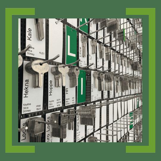 Schlüsseldienst Freiburg: Nachgemachte Schlüssel