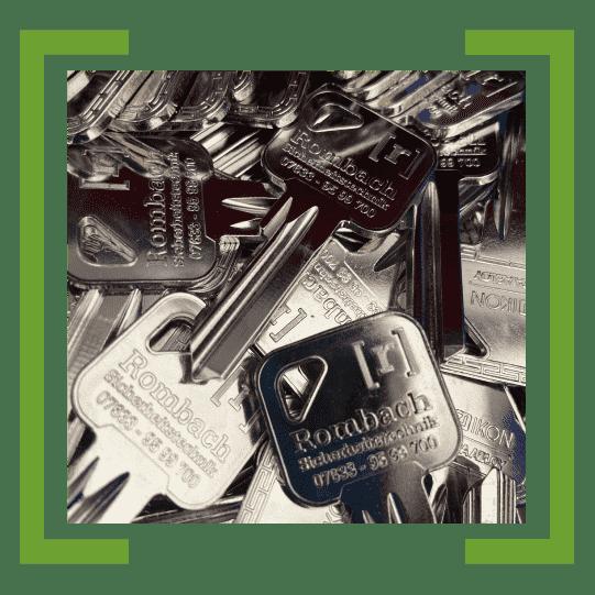 Schlüsseldienst in Freiburg: Nachgemachte Schlüssel