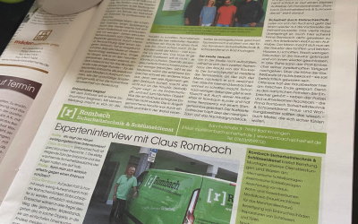 "Bericht im ""Profile"" Magazin des ReblandKurier!"